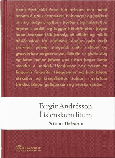 Birgir Andrésson: Í íslenskum litum.